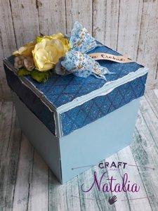 Exploding Box błękitny matowy - GoatBox