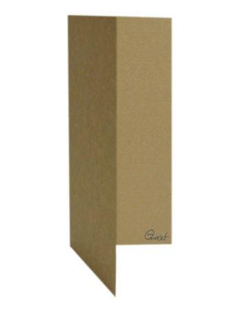 Karta DL bigowana kraft - GoatBox