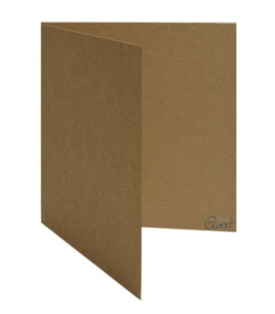 Karta bigowana kwadrat kraft - GoatBox