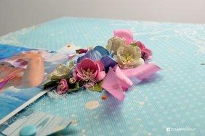 Kwiat wiśni - zestaw kremowo-biały 10szt